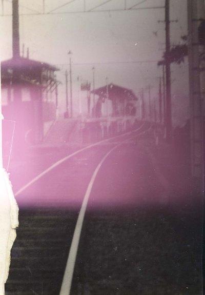 日野駅ホーム 1953頃