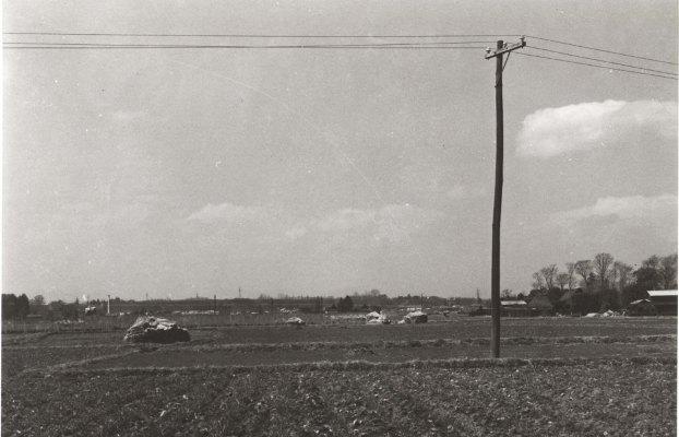 現中央自動車道バス停付近から西方面 1960