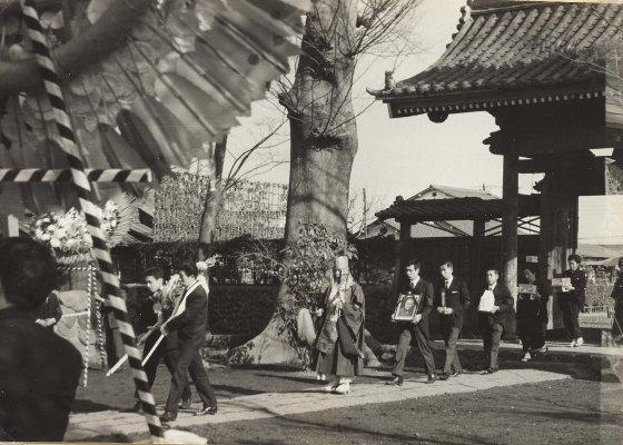 馬場岩松氏葬儀 1967(4)大昌寺