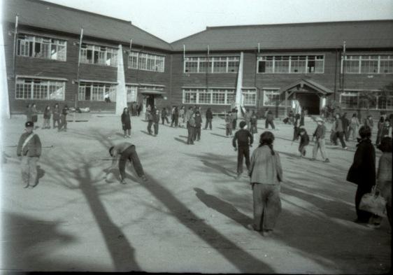 日野町立中学校 1951