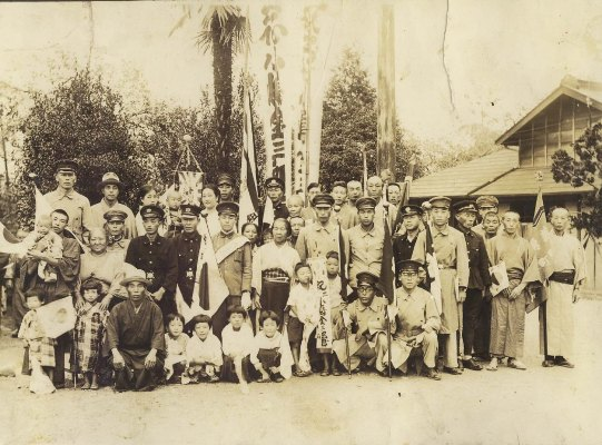 出征兵士の壮行 1940年前半