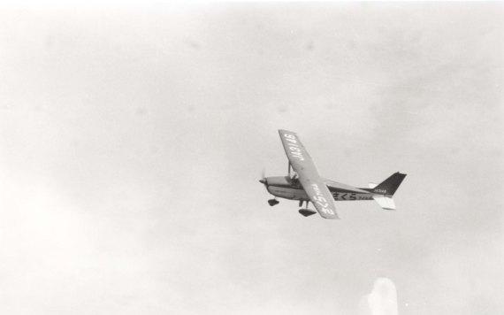 日野市市制祝賀行事 1963 - さくらフィルム号の祝賀飛行