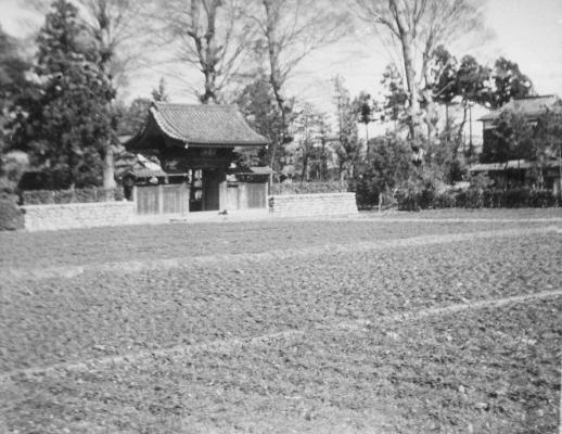 大昌寺山門 1950年代前期
