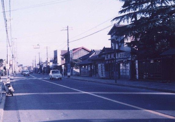 甲州街道南側の町並み 1962頃(2)
