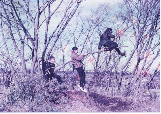 大昌寺山での遊び 1962頃