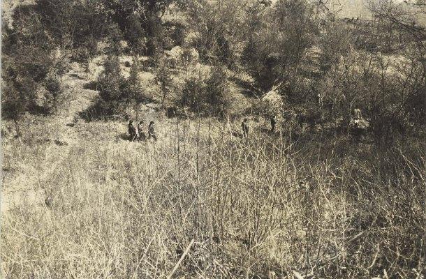 大昌寺山で遊ぶ子どもたち 1960頃(2)