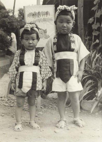 八坂神社の祭り 1951(2) 子ども