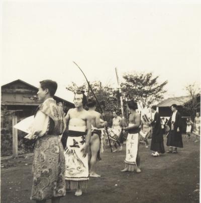 日野ヂーゼル仮装行列 1956(6)相撲取り