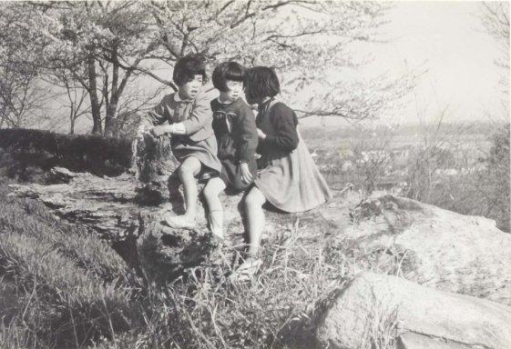 宝泉寺山上 1956