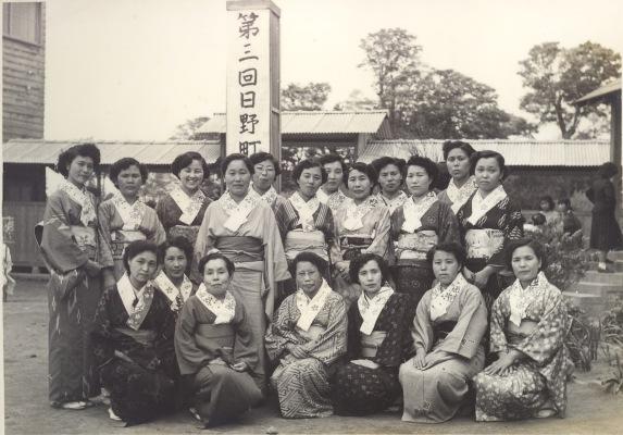 町民運動会 1954 ‐ 仲町婦人会