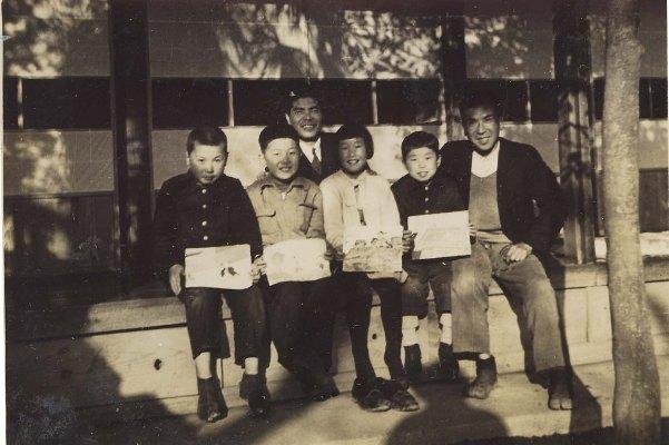 紙芝居を作る 1951