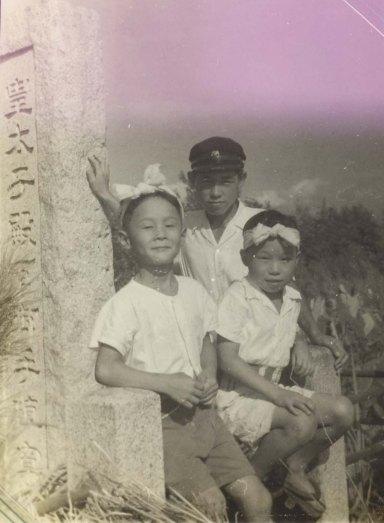 八坂神社の祭り 1953(2)宝泉寺山