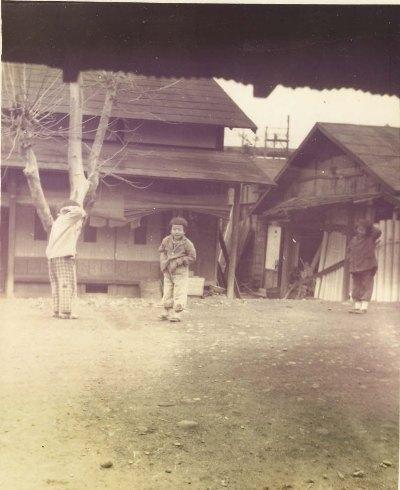 旧甲州街道横町付近 1951頃