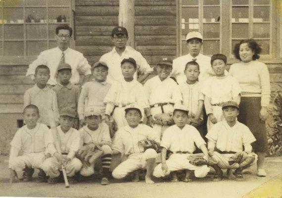 南多摩少年野球大会出場記念 1952