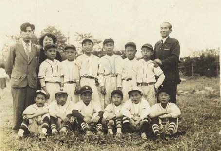 南多摩少年野球大会出場記念 1953
