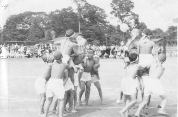 日野小学校秋季大運動会 1951(13)騎馬戦
