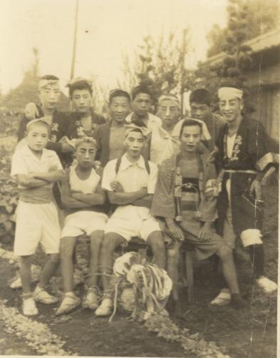 加組の若衆 1948