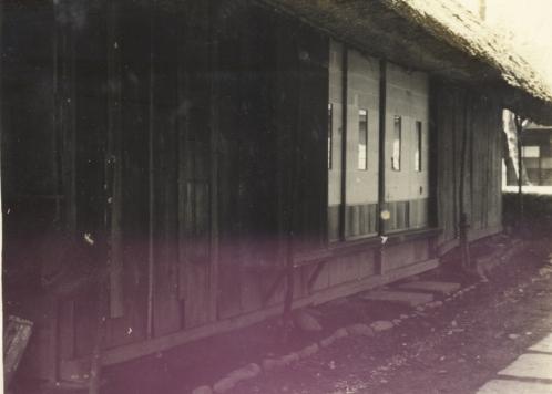 安西清氏生家 1953頃(3)北側