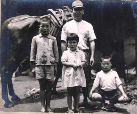 馬と子どもたち 昭和10年代後半