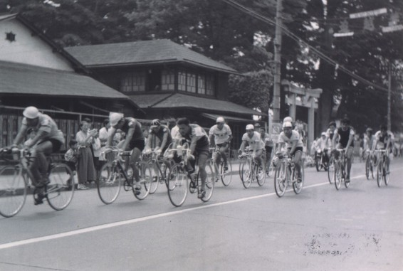 アジア大会 自転車競技 1958(4)八坂神社前