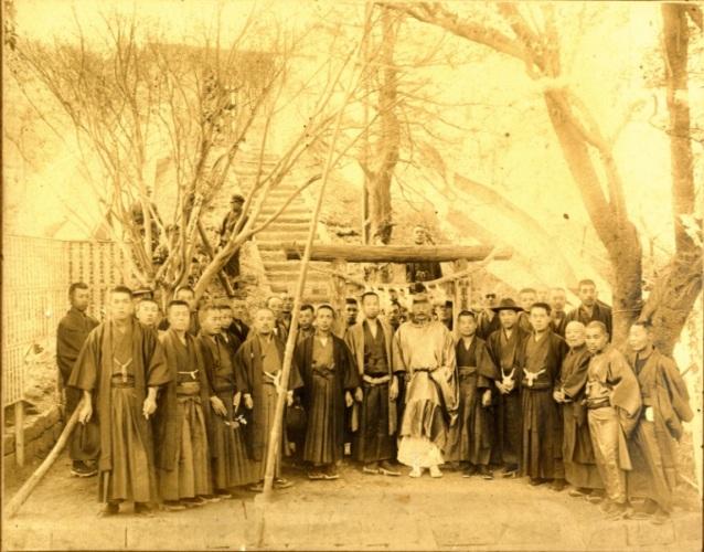 飯綱権現社 鳥居 1925