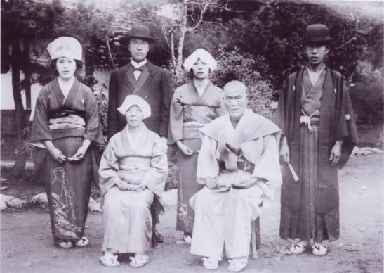 日野橋開通式 1926(4)招待客