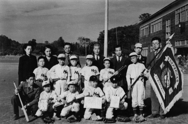 南多摩少年野球大会優勝 1951(3)