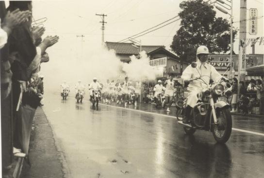 東京オリンピック 聖火リレー 1964(4)森町