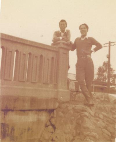 日野橋南詰 1937