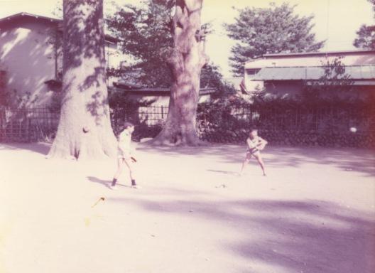 八坂神社境内 1976 - 子ども