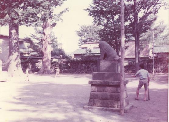 八坂神社境内 1976 - 子ども(4)