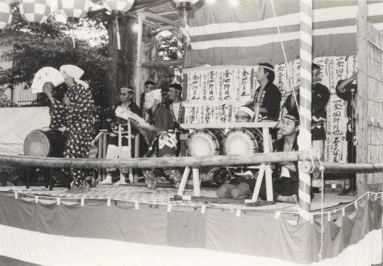 加組囃子連(9)- ひょっとこ踊り 昭和30年代か