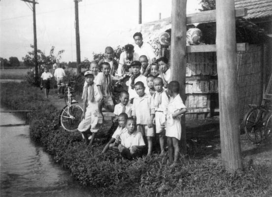 八坂神社の祭り 1950頃 - 谷戸・仲井の子どもたち