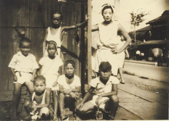 八坂神社の祭り 1948頃 - 少年たち
