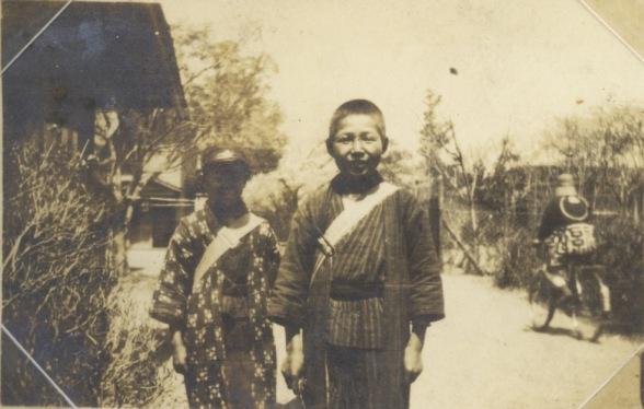日野町役場前 大正時代