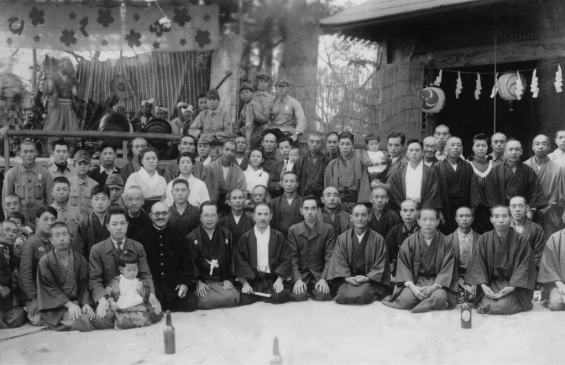 四ツ谷の人々-日野宮神社 昭和10年代後期