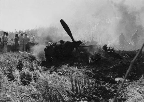 米軍機墜落 1955(1) 東光寺
