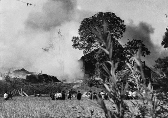 米軍機墜落1955(2)東光寺