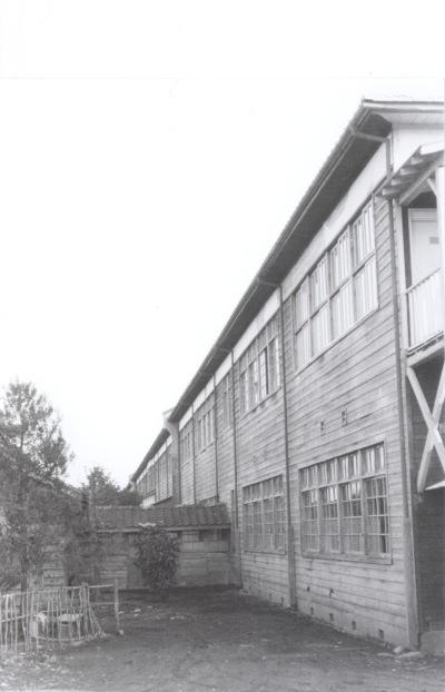 一小校舎裏 昭和30年代中頃