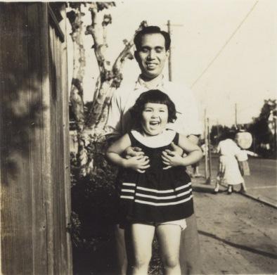 甲州街道 1956 - 川崎街道入口付近