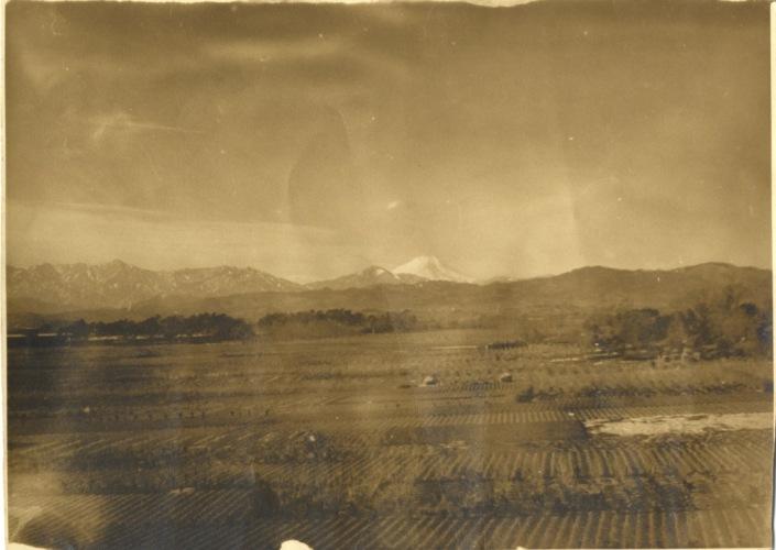 富士山遠望 昭和10年代中頃