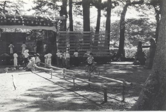 森町主催芝居舞台かけ 1956(2)