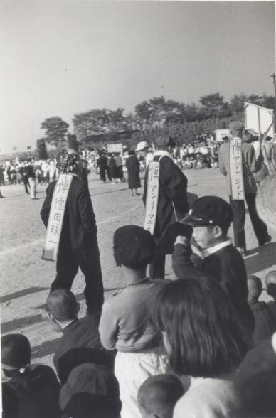 一中運動会 1955(5)仮装行列