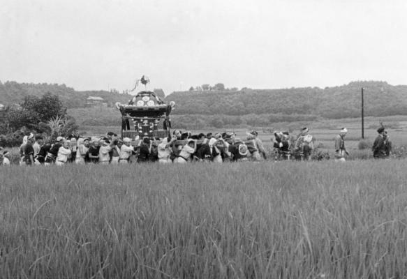 八坂神社の祭り 1955(10)宮神輿 - 東光寺