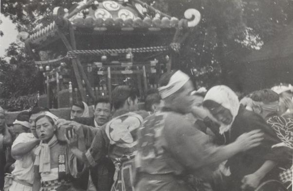八坂神社の祭り 1955(16)宝泉寺横