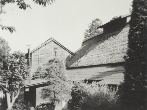河野家 ‐ 母屋裏 昭和30年代初頭