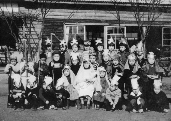 日野保育園 1951(3)クリスマス