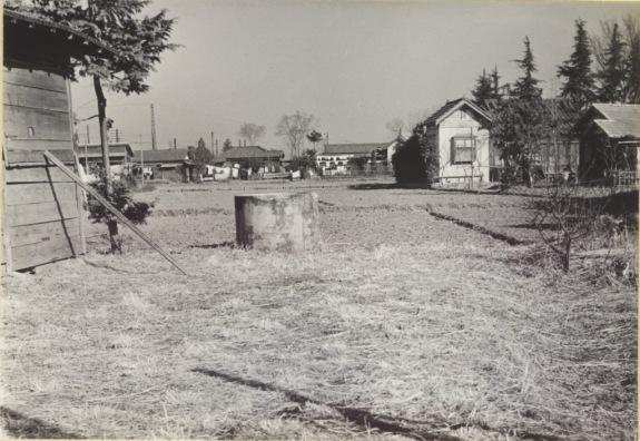 乙津宅建築予定地 - 森町 1956(1)
