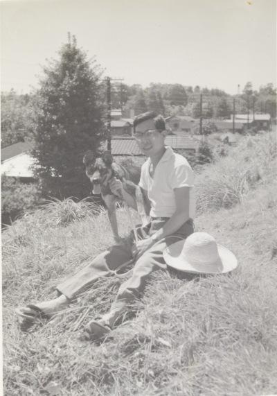 中央線土手東側 1960