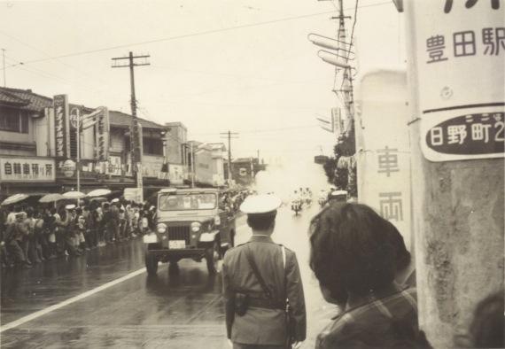 東京オリンピック 聖火リレー 1964(6)森町